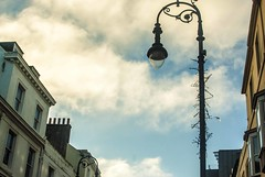 Street Lamp (Kirsty Ann Photography) Tags: city uk travel sea england english beach port photography seaside fishing nikon streetlamp hastings eastsussex travelphotography fishingport nikond40x