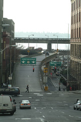Downtown AWV on-ramp (Seattle Department of Transportation) Tags: seattle way ramp traffic onramp viaduct 99 congestion transporation alaskan sdot awv