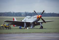 P-51D Mustang (Pentakrom) Tags: north american duxford 1992 mustang oldcrow p51 iwm n167f
