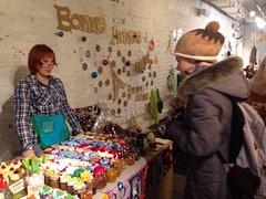 Фотоотчет с новогоднего дизайн-маркета BonMarche