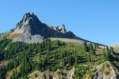 View of the Gargoyles in Garibaldi Provincial Park (Michael Garson) Tags: trees mountain canada mountains tree nature forest hiking peak hike glacier backpacking glaciers gargoyles peaks mountians provincialpark garibaldiprovincialpark