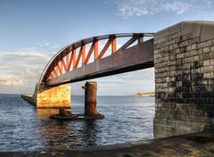 The Breakwater Bridge, Valletta, Malta (neilalderney123) Tags: bridge water architecture landscape olympus malta omd valletta 2015neilhoward