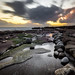 Sunset in Liscannor - Clare, Ireland - Seascape photography