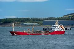 Vadero Highlander (SPMac) Tags: park sea scotland energy ship highlander shore shipping cromarty tanker chemical firth nigg vadero vaderoshipping