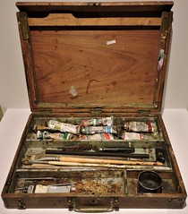 A.J. Casson's paintbox (Will S.) Tags: ontario canada art gallery artgallery canadian trunks emilycarr mypics kleinburg aboriginalart canadiana groupofseven tomthomson mcmichael mcmichaelcanadianartcollection mcmichaelgallery