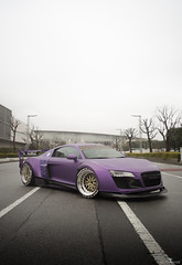 Garage Ill's Audi R8 (Celestine Photography) Tags: cars photography euro automotive audi slammed r8 automotivephotography becausejapan tokyotuner celestinephotography garageill automotivephotographerinjapan automotivephotographerintokyo carphotographersinjapan carphotographersintokyo