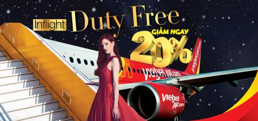 Đón Xuân cùng Vietjet, Thỏa thích shopping hàng hiệu miễn thuế