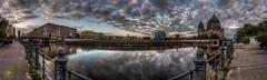 Spreepromenadenblick (Nachtwchter) Tags: panorama spree dri schlossplatz hdr berlinerdom berlinmitte tonemapping staatsratgebude thebestofhdr musikschulehanseisler