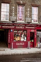 Hanks Acoustic Guitars on Denmark Street, London