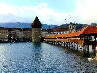 Kapellbrücke - Luzern