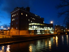 Land Registry aka former PEX building Leicester 2016 (KiranParmar) Tags: light building night aka leicester land former pex registry 2016