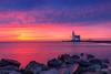 Paard van Marken (pieter.struiksma) Tags: sky lighthouse water dutch sunrise landscape stones marken paardvanmarken