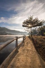 _DSF0227 (NeVaSanYa) Tags: lake landscape thailand outdoor hamlet traval reservoirs meahongson baanraktai