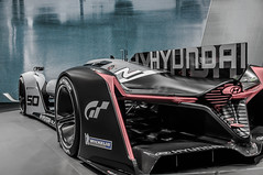 Hyundai (Nihil Baxter007) Tags: auto cars car race racecar frankfurt exhibition gt hyundai michelin ausstellung iaa