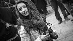 (AlexOrr) Tags: sardegna street city people urban bw italy woman white black girl closeup photography nikon photographer candid s unposed bianco nero 28300 orotelli d3200 strasenfotografie alessandroorr