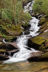 Roaring fork falls (Avisek Choudhury) Tags: longexposure landscape waterfall northcarolina gitzo roaringfork pisgahnationalforest canon5dmarkiii avisekchoudhury acratechballhead canon2470mmf28lii avisekchoudhuryphotography