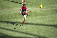 Jack Watts goals (Straffo) Tags: sport melbourne stkilda afl 2016 melbournedemons jessehogan nabchallenge etihadstadium jackwatts