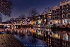 Keizersgracht Amsterdam (mvdburg1971) Tags: reflection amsterdam night avond keizersgracht herenstraat