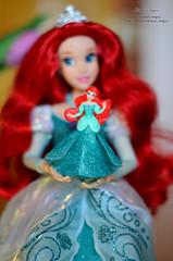 Princess 05 (Lindi Dragon) Tags: ariel doll dolls disney kinder disneystore disneyprincess