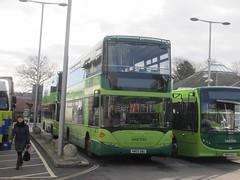 Southern Vectis 1142 HW09BBU 'Totland Bay' Newport Bus Stn (1280x960) (dearingbuspix) Tags: 1142 goahead southernvectis totlandbay gosouthcoast theislandsbuses hw09bbu