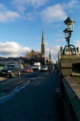 Great Western Road, Glasgow (David_Leicafan) Tags: bridge church traffic glasgow kelvin georgegilbertscott cokecan johnhoneyman greatwesternbridge 28mmelmaritv4