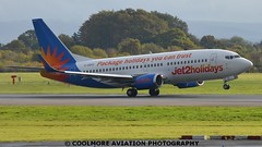 2014_10_25_MAN0111 (COOLMORE PHOTOGRAPHY) Tags: man manchester airport aircraft boeing airliner airliners 737 manchesterairport b737 jet2 egcc b7373 boeing7373 ggdfo