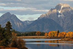 IMG_1198 (Rodney Preisch) Tags: color reflection fall bend wyoming grandtetons tetons oxbow