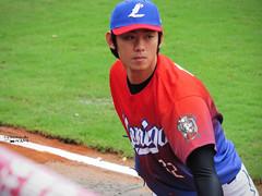 IMG_3177_副本 (vivian_10202) Tags: baseball taoyuan cpbl lamigo 王溢正