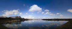 Lake Borkovac (Katarina Drezga) Tags: panorama lake fish nature water clouds countryside outdoor serbia fields vojvodina srbija srem nikkor1855mm outdoorphotography borkovac borkovaclake nikond3100 borkovackojezero