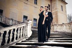 (Luca Simonetti Photography) Tags: girl fashion garden torino outside photo clothing model couple photoshoot young style blond editorial villadellaregina delidee