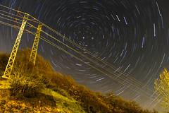 Eterno movimiento (ElArquitecto) Tags: longexposure nightphotography night stars landscape lights milkyway starscape circumpolar