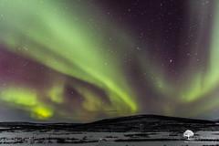 De l haut (photosenvrac) Tags: hiver neige aurore nordik motoneige borale 2016 finlande laponie thierryduchamp