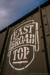 Coal Hopping (marko138) Tags: railroad abandoned train pennsylvania steam coal hopper railfan narrowgauge eastbroadtop railroadphotography