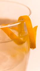 Orange twist (Nydialy) Tags: orange glass twist naranja vaso verre zest cáscara zeste macromondays