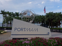 Znak portu Miami | Miami Port sign