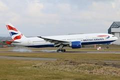 British Airways - Boeing 777-236ER G-VIIO @ Cardiff Rhoose (Shaun Grist) Tags: wales airport aircraft aviation cardiff airline ba boeing britishairways 777 aeroplanes cardiffairport speedbird rhoose avgeek cwl gviio egff cardiffrhoose