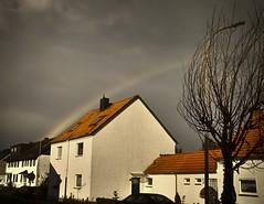 Regenbogen (Rainbow) (Gnter Hentschel) Tags: sky germany deutschland rainbow nikon europa outdoor wolken alemania nrw allemagne germania regenbogen draussen nikond3200 alsdorf mariadorf d3200 blumenrath