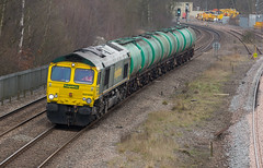 Freightliner Class 66/5 no 66568 at Clay Cross on 22-03-2016 with a Southampton to Lindsey Oil Train (kevaruka) Tags: uk greatbritain england colour composition train canon march flickr colours unitedkingdom derbyshire trains telephoto 5d locomotive frontpage freight freighttrain 2016 freightliner class66 class73 claycross gbrf canon5dmk3 5dmk3 5d3 kevinfrost 5diii canon70200f28ismk2 canoneos5dmk3 ilobsterit telephototrains