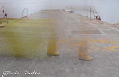 Seamen (Glo Stos) Tags: muelle galicia riveira marinero espigon ropadeaguas