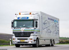 MB Actros MP1 LH / Joh. van de Zand (NL) (almostkenny) Tags: holland netherlands truck camion mercedesbenz lh nl mb mpi lkw johvdzand cartransporter mp1 actros autotransporter ciarwka 61bbs2 johvanderzand