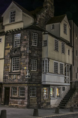 John Knox House, Royal Mile (Colin Myers Photography) Tags: street old blue colin photography scotland town high twilight edinburgh royal scottish hour royalmile auld oldtown atmospheric mile myers canongate johnknoxhouse reekie edinburghtwilight colinmyersphotography
