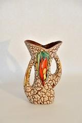 snakeskin vase (dekker@dekker) Tags: ceramics vase ceramique snakeskin vaas keramiek vallauris retropottery fatlava