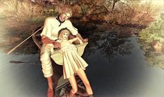 late in the spring season (Luca Arturo Ferrarin) Tags: beautiful spring couple secondlife nostalgic lover