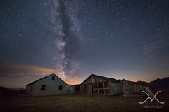 Rural Decay Milky Way (Mike Ver Sprill - Milky Way Mike) Tags: ranch park old travel light sky urban abandoned mike night barn rural way stars star michael countryside cabin nikon long exposure paint nightscape hole outdoor decay grand row structure jackson historic explore galaxy national astrophotography astronomy mormon wyoming teton tetons universe milky cosmos mv ver d800 moulton urbex sprill versprill