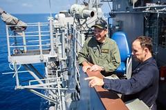 160416-N-EH218-133 (U.S. Pacific Fleet) Tags: ocean usa pacific mob pacificocean cruiser underway deployment 2016 ussmobilebay cg53 7thfleet