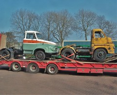 Ford Trader K Series & Bedford S Type tractor units (Shaun Ballisat Transport Photography) Tags: old tractor classic ford k thames truck vintage bedford photography photos transport ale mona s historic vehicles lorry brewery type series trucks artic rare unit trader lorries