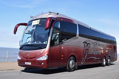 YN15YTP  Galleon Travel, Roydon (highlandreiver) Tags: travel bus coach rally lancashire blackpool coaches galleon roydon irizar i6 ytp yn15 yn15ytp