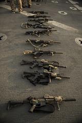131109-N-TQ272-0163 (markelrayes) Tags: ocean military navy guns harpersferry marines sailor ammo deployment gunfire lsd49 elrayes
