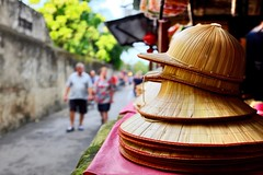 Pls pay the entrance fee. (Melvin Yue) Tags: street city travel colors hat 35mm asia vietnamese cityscape colours streetphotography unesco wanderlust traveller vietnam hoian explore fujifilm lonelyplanet photooftheday picoftheday natgeo travelphotography travelgram x100s