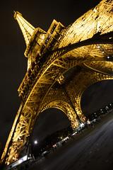 Tour Eiffel, Paris (marzo 2016) (Matt FCSP Murphys) Tags: paris france torre tour eiffel grandangolo notte parigi prospettiva